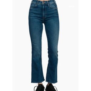 Mother the Hustler ankle high rise jeans